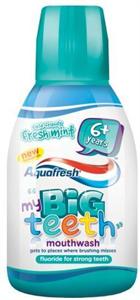 Aquafresh Big Teeth Szájvíz Gyermekeknek