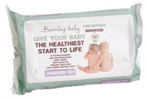 Beaming Baby Organikus Popsitörlő Kendő - Illatmentes