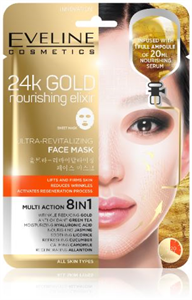 Eveline Cosmetics 24k Gold Nourishing Elixir Face Mask