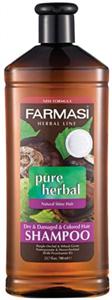 Farmasi Pure Herbal Sampon Száraz, Sérült és Festett Hajra