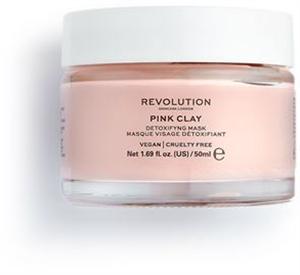 Revolution Skincare Pink Clay Detoxifying Face Mask Arcpakolás