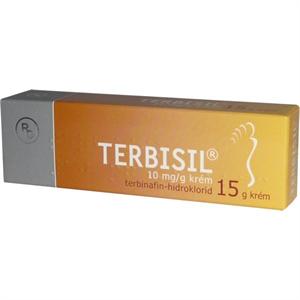 Terbisil 10 mg/g Krém