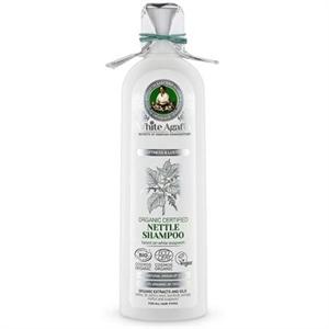 White Agafia Organic Nettle Sampon