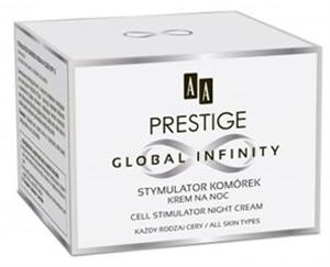 AA Prestige Global Infinity Sejt Stimuláló Éjszakai Arckrém Minden Bőrtípusra