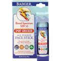 Badger SPF35 Sport Unscented Sunscreen Face Stick
