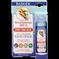 Badger SPF35 Sport Unscented Sunscreen Face Stick