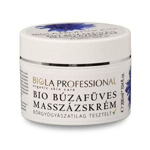 Biola Bio Búzafüves Masszázskrém