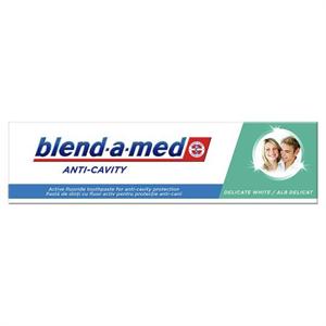 Blend-a-Med Anti-Cavity Delicate White Fogkrém