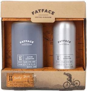 FatFace Alpine Adventure Body Wash for Men