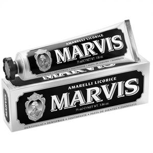 Marvis Fogkrém Amarelli Licorice Mint, Fluorid Mentes Fogkrém