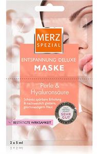 Merz Spezial Entspannung Deluxe Maske Perle & Hyaluronsäure