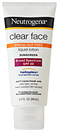 Neutrogena Clear Face Break-Out Free Liquid Lotion Sunscreen SPF30