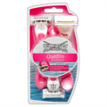 Wilkinson Sword Quattro For Women Női Eldobható Borotva