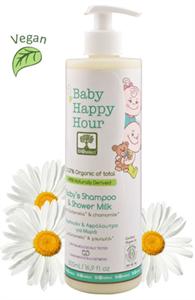BIOselect Baby Happy Hour Baba Sampon és Tustej