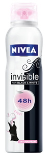Nivea Invisible for Black & White Clear Deo Spray