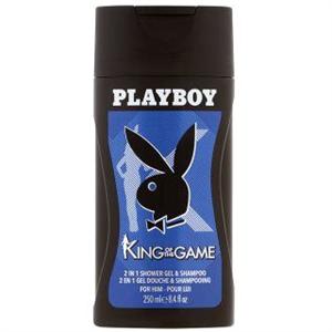 Playboy King Of The Game 2 az 1-ben Tusfürdő és Sampon Férfiaknak