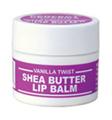 Perfect Organics Shea Butter Lip Balm Vanilla Twist