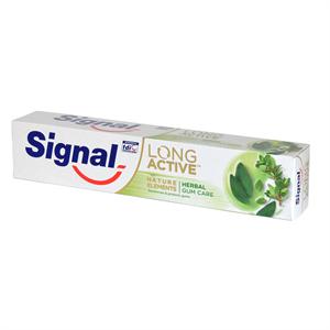 Signal Long Active Nature Elements Clove Sensitive Fogkrém