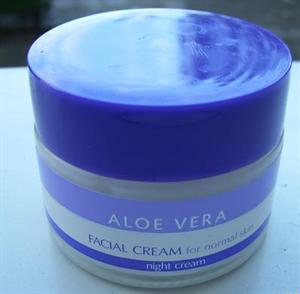 Tesco Aloe Vera Facial Cream For Normal Skin Night Cream