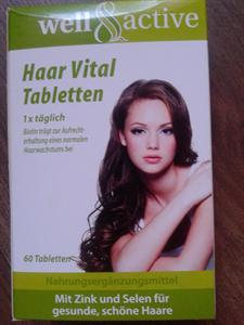 Well & Active Haar Vital Tabletten