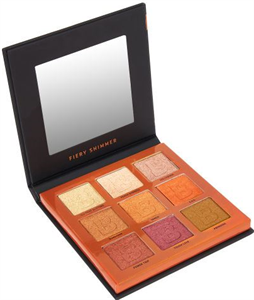 Beautybay The Collection Eyn Fiery Shimmer 9 Colour Palette