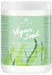 Kallos Vegan Soul Tápláló Hajpakolás Növényi Proteinnel és Avokádó Olajjal Száraz, Kimerült Hajra