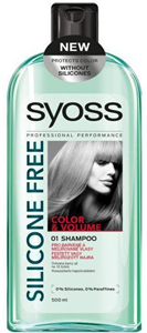 Syoss Silicone Free Color & Volume Sampon