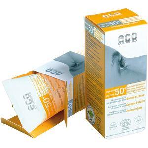 Eco Cosmetics Napvédő Krém FF50+ Színezett