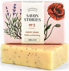 Savon Stories N°3 Poppy Seed Radírozó Szappan