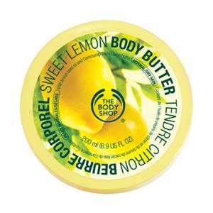 The Body Shop Édes Citromos Testvaj