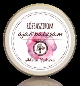 Alora Natura Rózsaszirom Ajakbalzsam Vadrózsa Olajjal