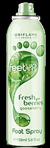 Oriflame Feet Up Lábspray Egressel