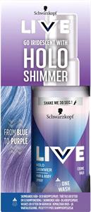 Schwarzkopf Live Holo Shimmer Cosmic Halo Haj- és Testspray