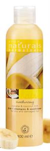 Avon Naturals Hidratáló Banán és Kókusztej 2 az 1-Ben Sampon és Balzsam