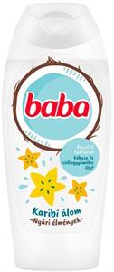 Baba Karibi Álom Kókusz-Csillaggyümölcs Frissítő Tusfürdő