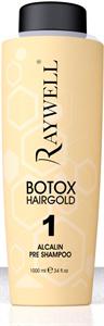 Raywell Botox Hairgold Mélytisztító-Előkészítő Sampon