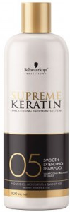 Schwarzkopf Supreme Keratin 05 Smooth Extending Shampoo