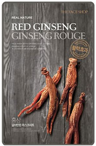 Thefaceshop Real Nature Red Ginseng Face Mask