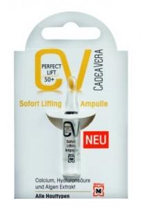 CV Cadea Vera Perfect Lift 50+ Bőrfeszesítő Ampulla
