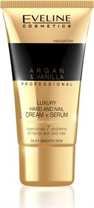 Eveline Argan&Vanilla Luxus Krém-Szérum Kézre és Körömre