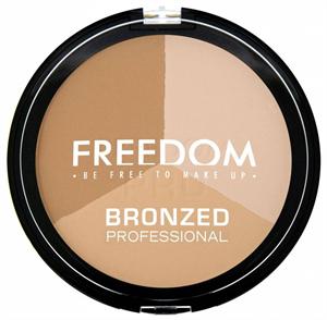 Freedom Makeup Bronzed Professional Pro Bronzosító Trió