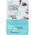 Victoria Beauty Elements Detox Charcoal Charbon Bubble Sheet Mask