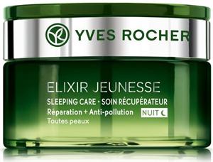 Yves Rocher Elixir Jeunesse Légző Bőr Regeneráló Éjszakai Arcápoló