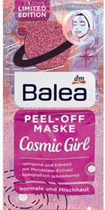 Balea Cosmic Girl Tisztító Hatású Lehúzható Arcmaszk