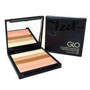 Sleek GLO Highlighter és Bronzosító Paletta