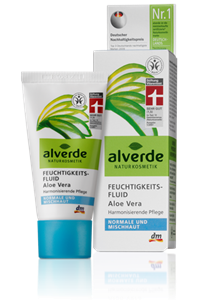 Alverde Hidratáló Fluid Aloe Vera