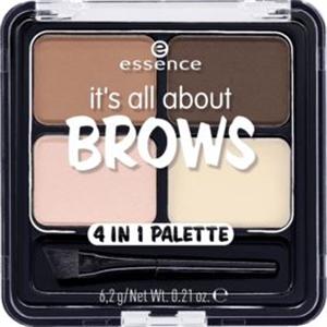 Essence It's All About Brows 4In1 Szemöldök Paletta