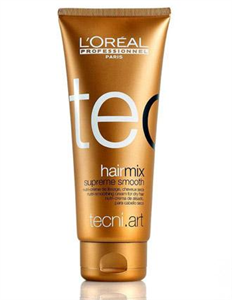 L'Oreal Professionnal Tecni.Art Hair Mix Supreme Smooth Tápláló Hajsimító Krém