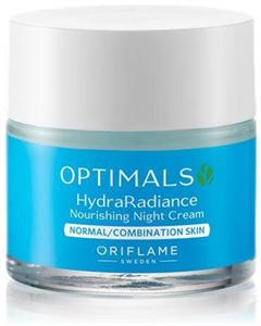 Oriflame Optimals Hydra Radiance Tápláló Éjszakai Krém Normál/Kombinált Bőrre