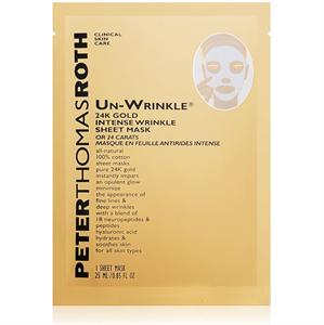 Peter Thomas Roth Un-Wrinkle 24K Gold Sheet Mask
